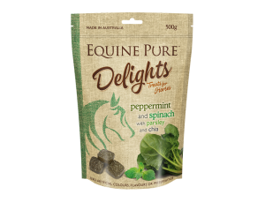 equine-pure-horse-feed-peppermint-spinach-500g